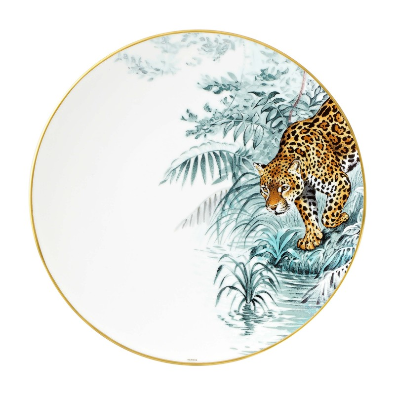Carnets d'Équateur Dinner Plate Jaguar - Set of 2