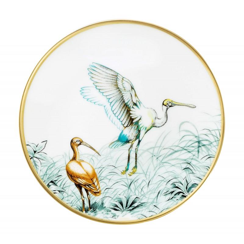 Carnets d'Équateur Bread and Butter Plate Birds - Set of 2