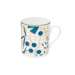 A Walk in the Garden Mug Blue