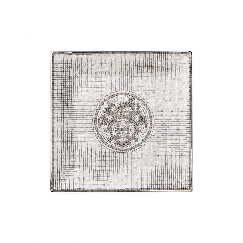 Mosaïque au 24 Platinum Square Plate N°3