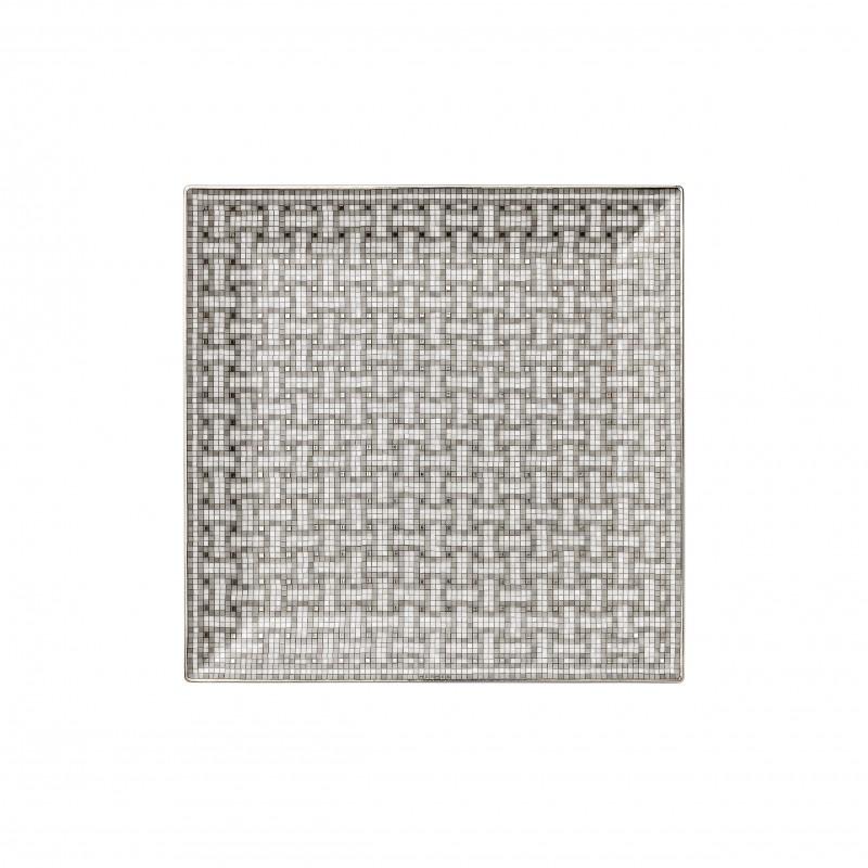 Mosaïque au 24 Platinum Square Plate N°4
