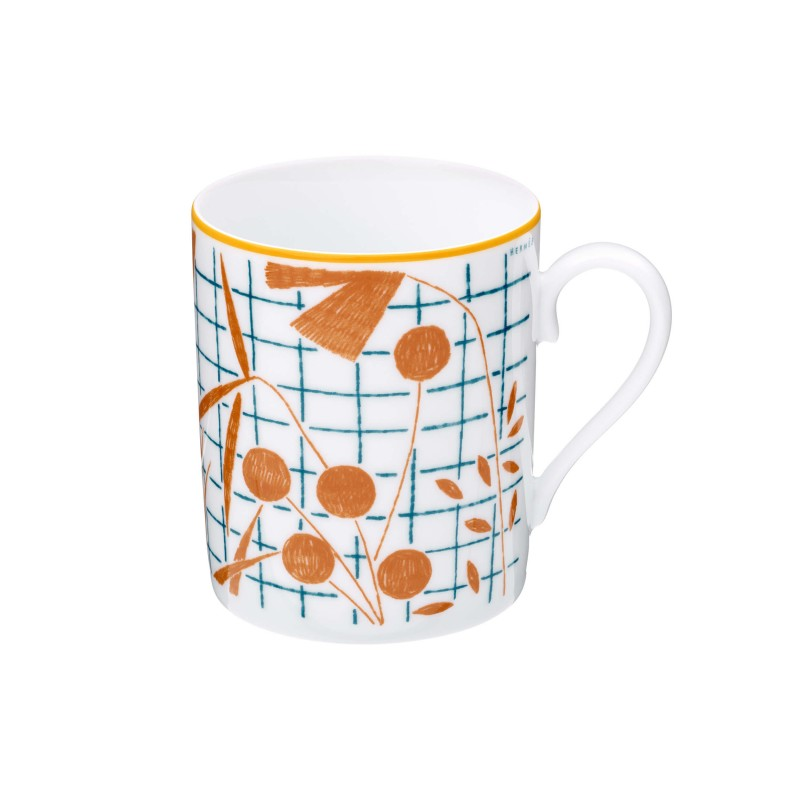 A Walk in the Garden Mug Orange