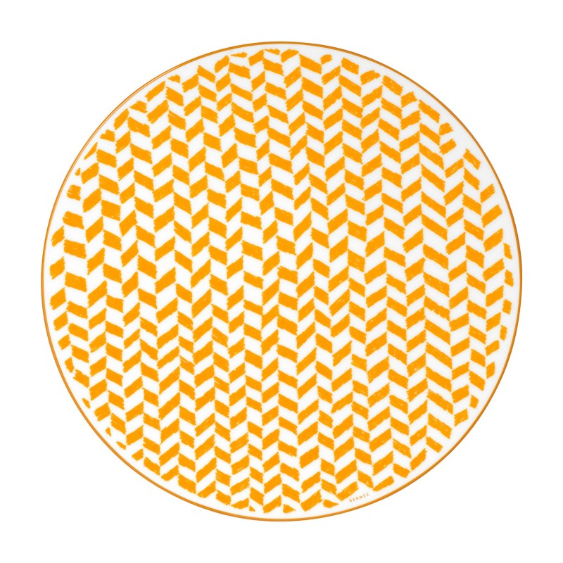 A Walk in the Garden Dinner Plate Yellow - Set of 2