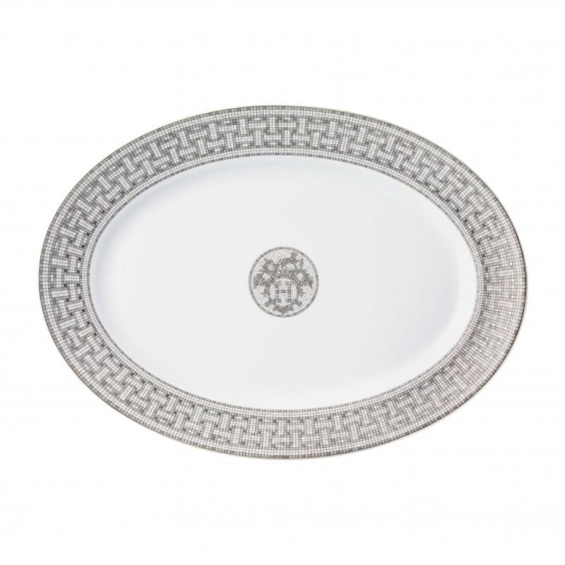 Mosaïque au 24 Platinum Large Oval Platter