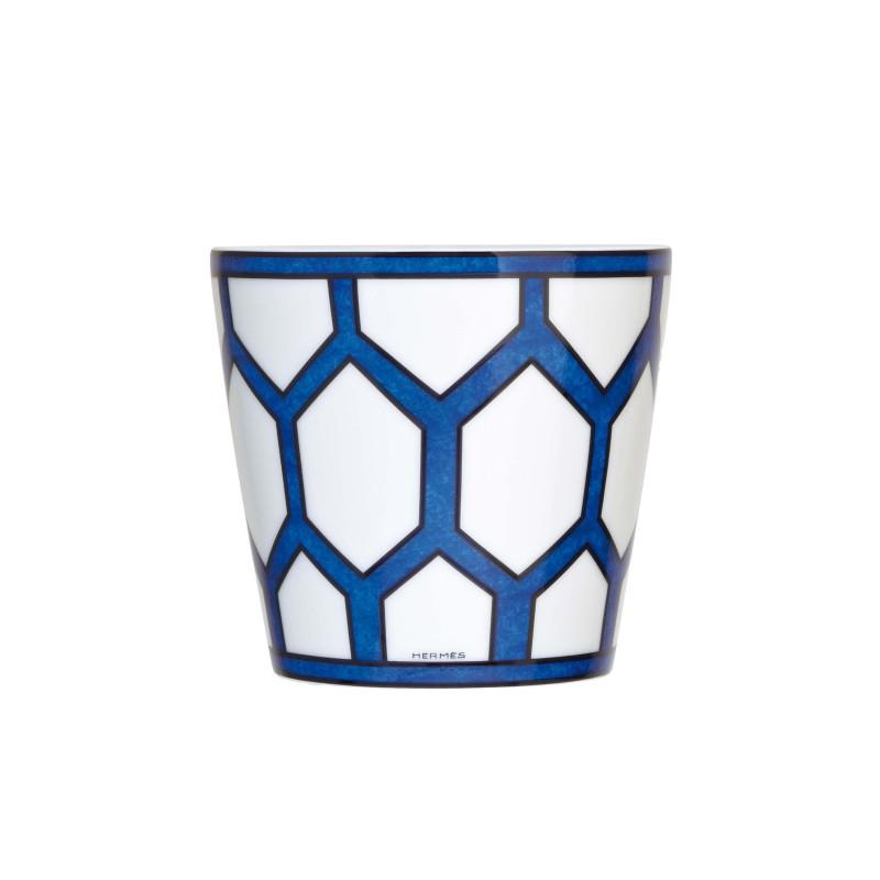 Bleus d'Ailleurs Candle Holder Blue