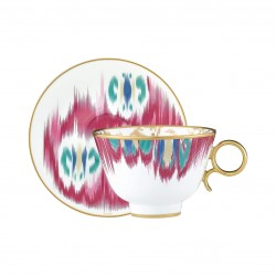 Voyage en Ikat Tea Cup and...