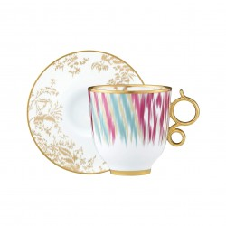 Voyage en Ikat Mug and Saucer