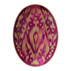 Voyage en Ikat Medium Oval...
