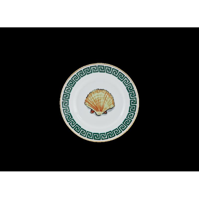 Il Viaggio di Nettuno Bread Plate White - Set of 2