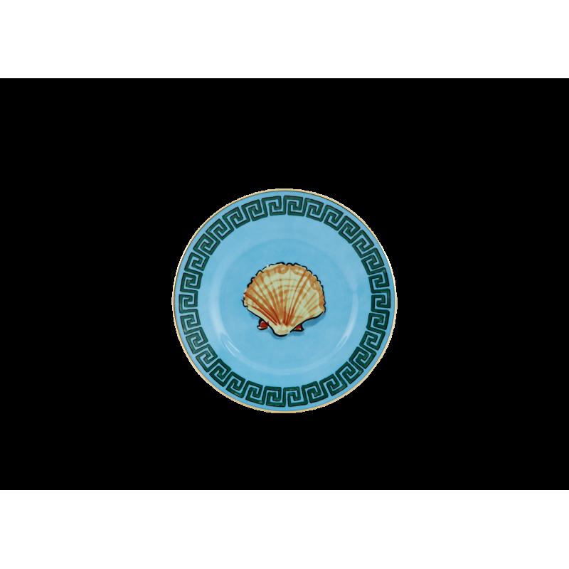 Il Viaggio di Nettuno Bread Plate Sea Blue - Set of 2