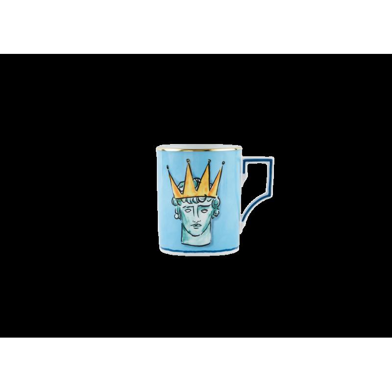 Il Viaggio di Nettuno Mug Sea Blue