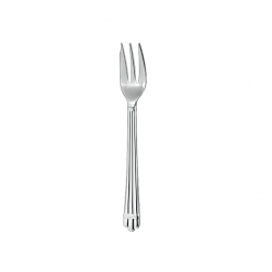 Aria Silver-Plated Cake Fork