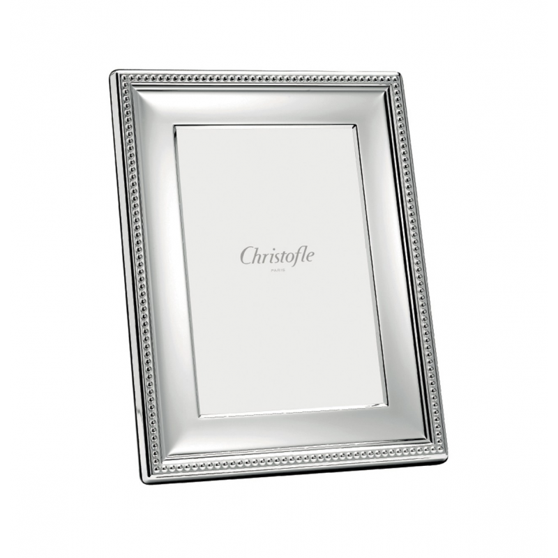 Perles Silver-Plated Picture Frame 9x13
