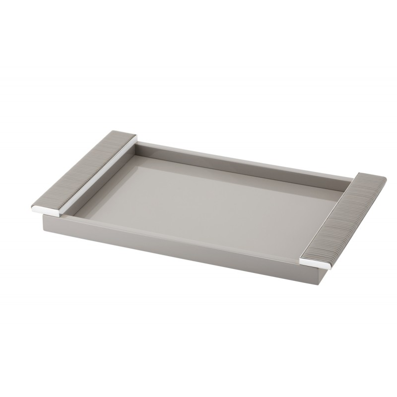 Lacquered Tray Grey