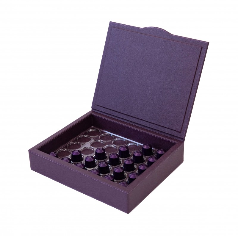 Java Pixie Nespresso Box Purple