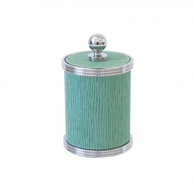 Amalfi Small Round Box Pistachio