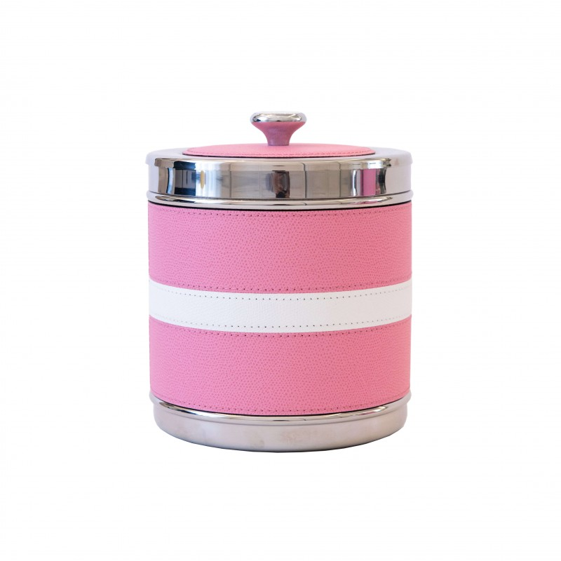 Ocean Small Ice Bucket Pink and White