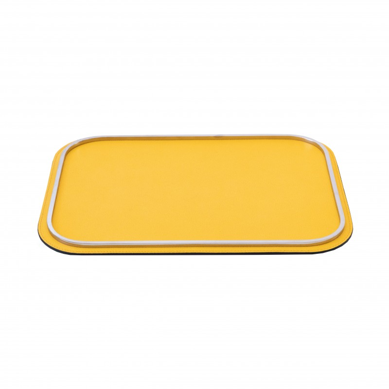Rossini Rectangular Tray Yellow