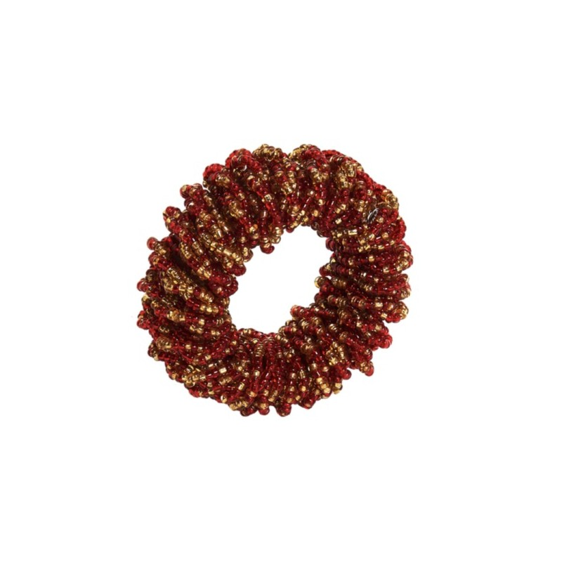 Sparkle Napkin Ring Red