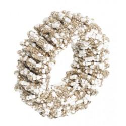 Sparkle Napkin Ring White