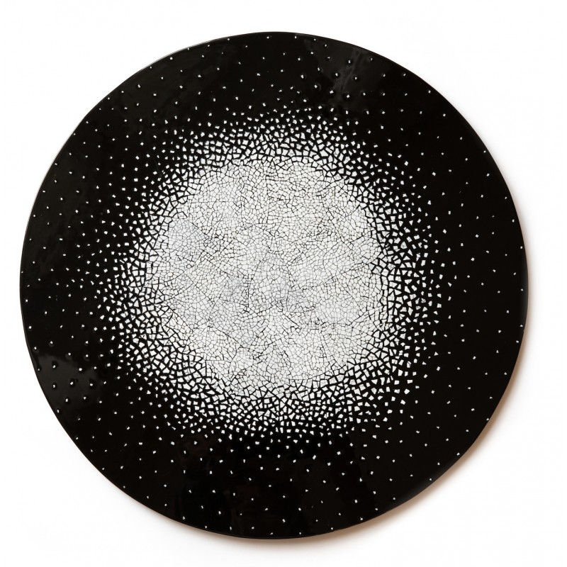 Eggshell Placemat Black
