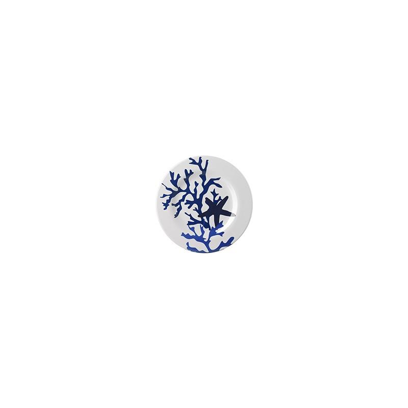 Corallo Blue Fruit Plate