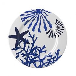 Corallo Blue Medium Plate