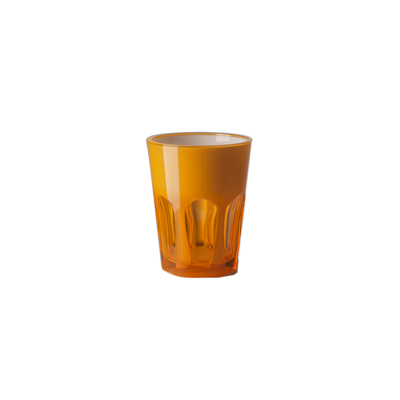 Double Face Glass Orange