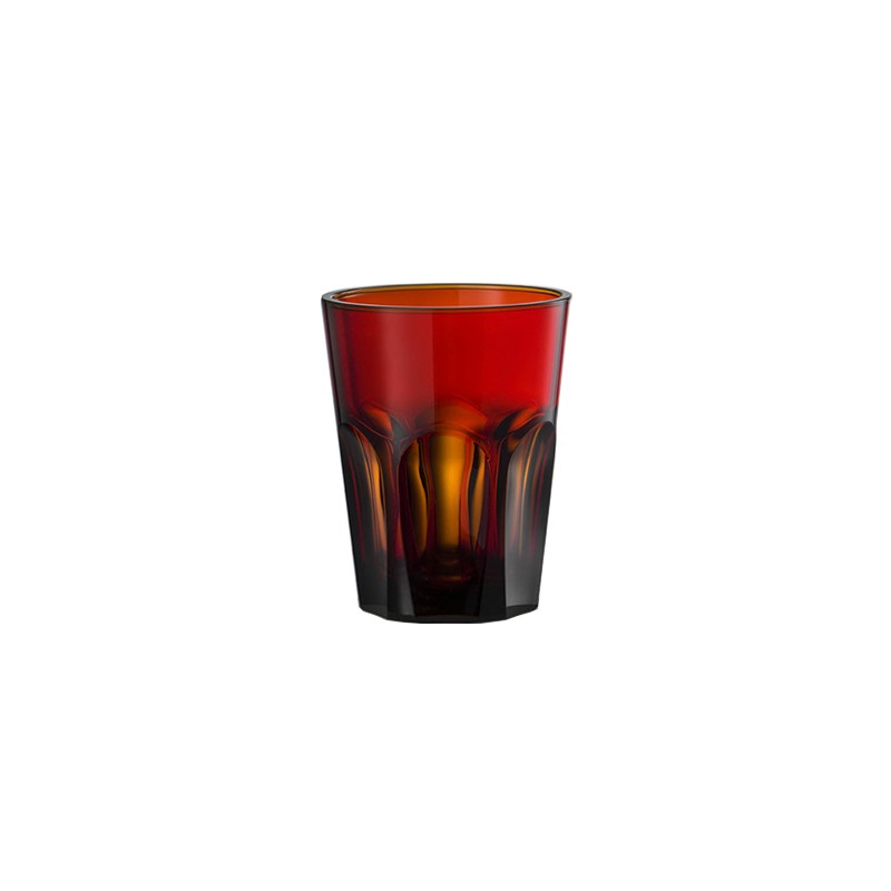 Double Face Glass Scarlet