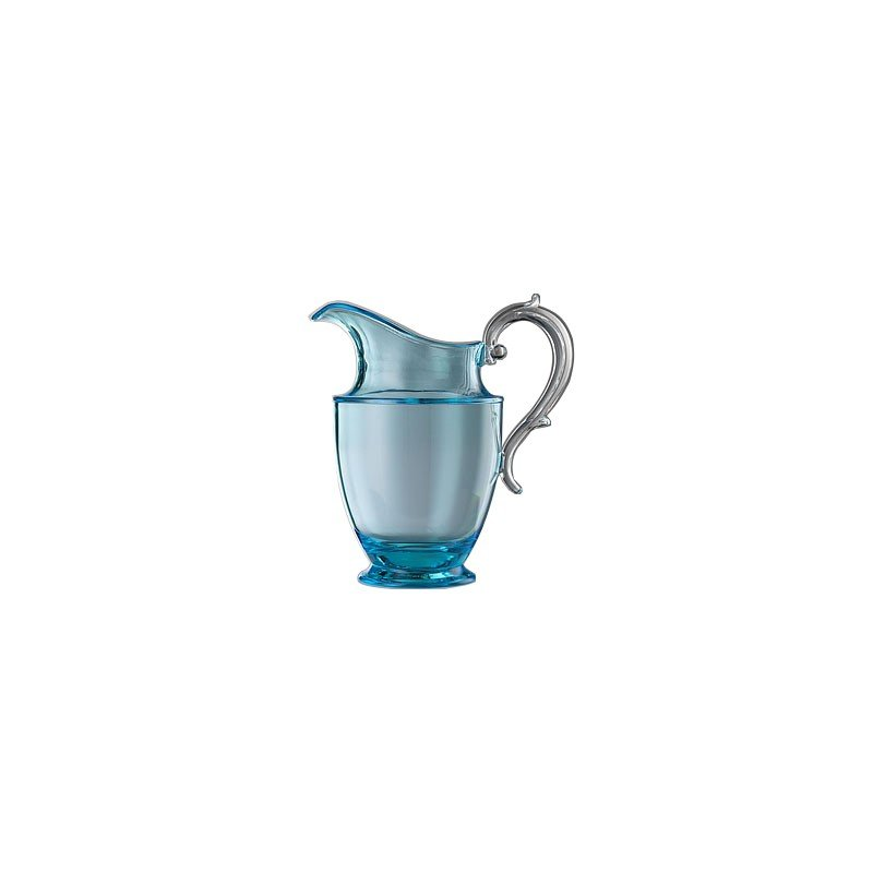 Federica Pitcher Turquoise