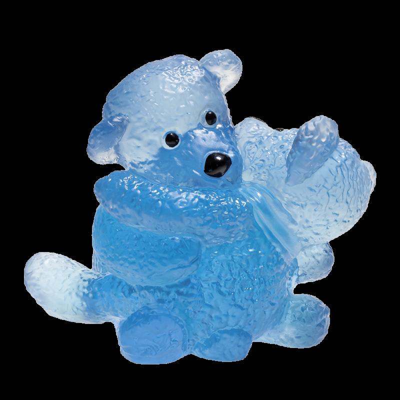 Doudours Twins Bleu de Serge Mansau Edition Limitée à 375 ex