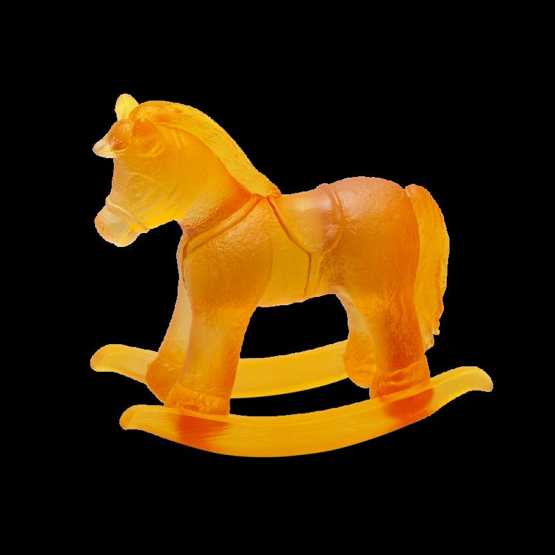Amber Rocking Horse