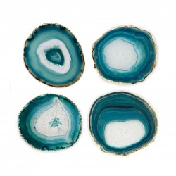 Agate Set of 4 Coasters