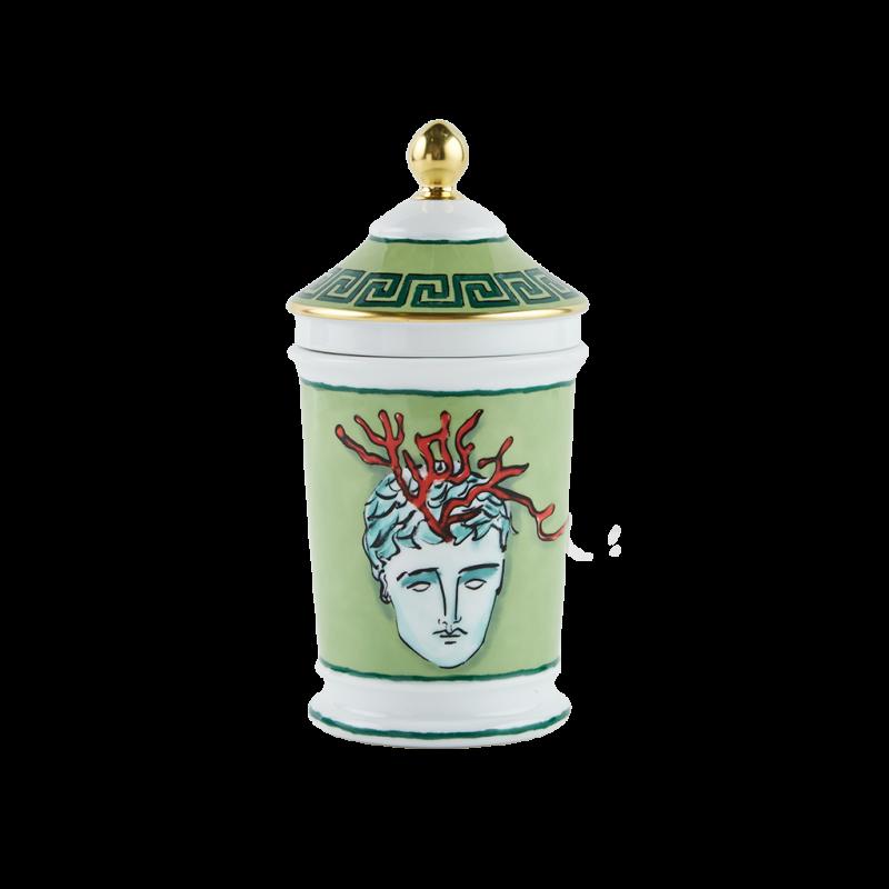 Il Viaggio di Nettuno Container Moss Vase Green
