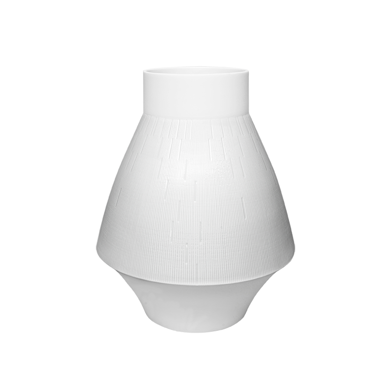Infini Small Vase White