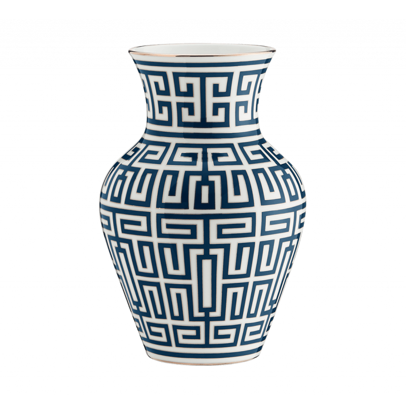 Labirinto Navy Vase