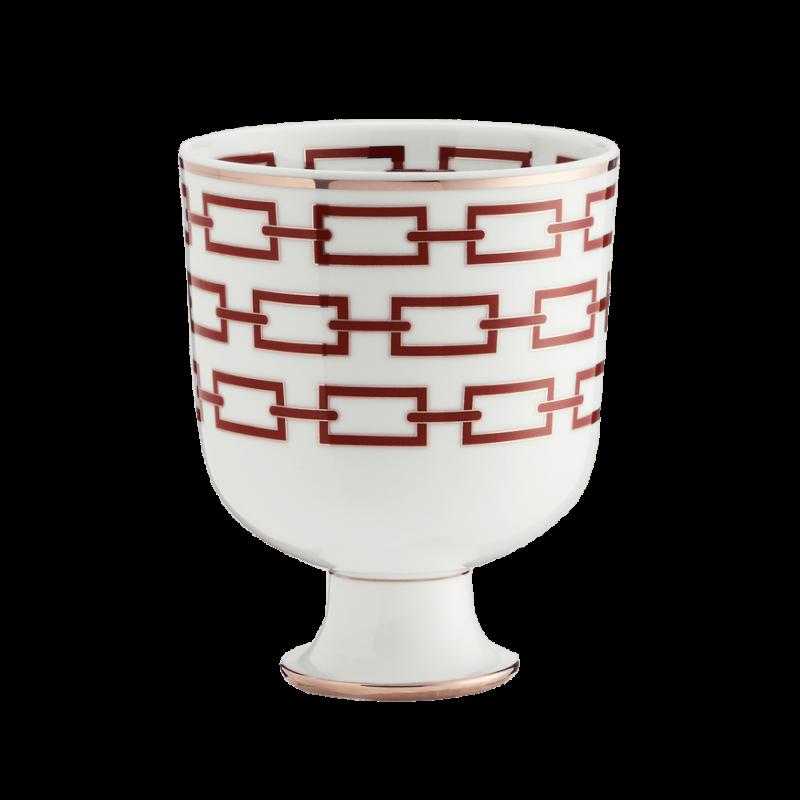 Catene Red Vase
