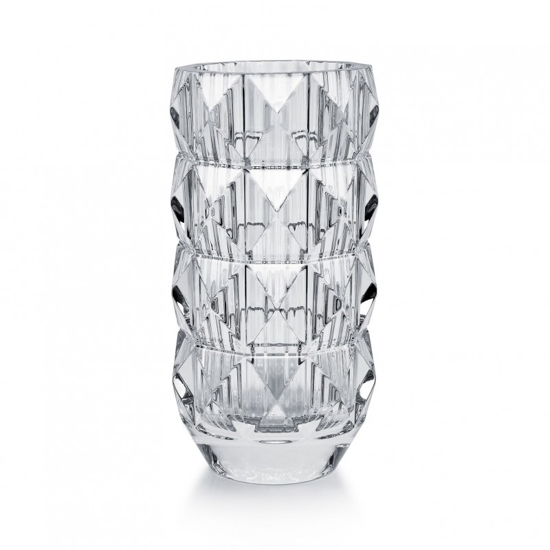 Louxor Vase Round Clear