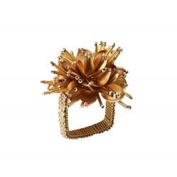 Starburst Napkin Ring Gold