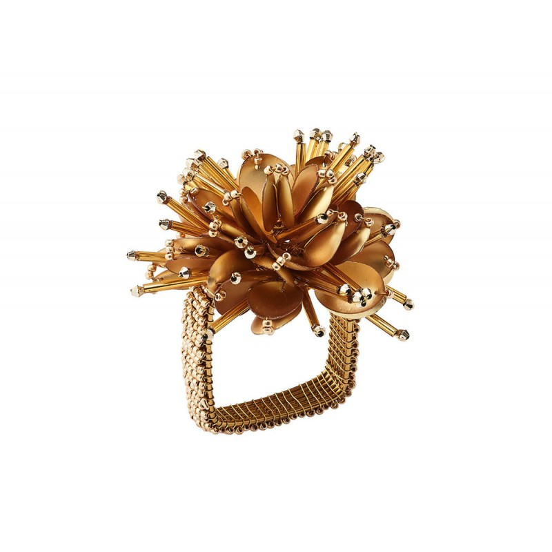 Starburst Napkin Ring Gold