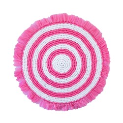 Plastic Twine Placemat Pink...