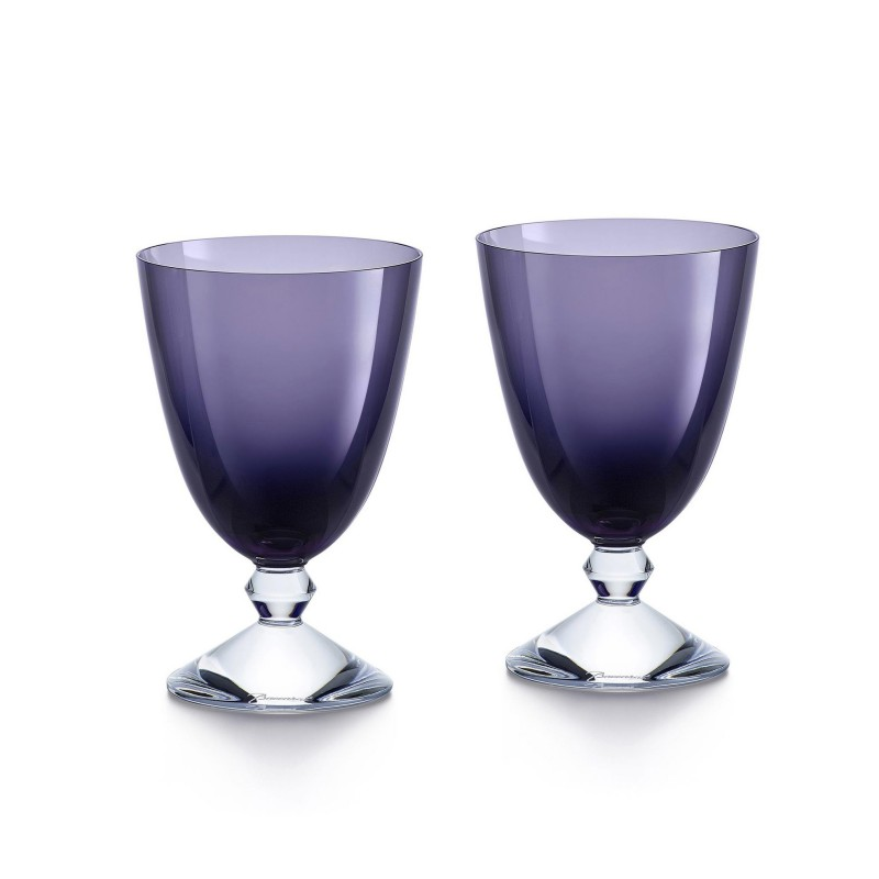 Set of 2 Véga Glasses Purple
