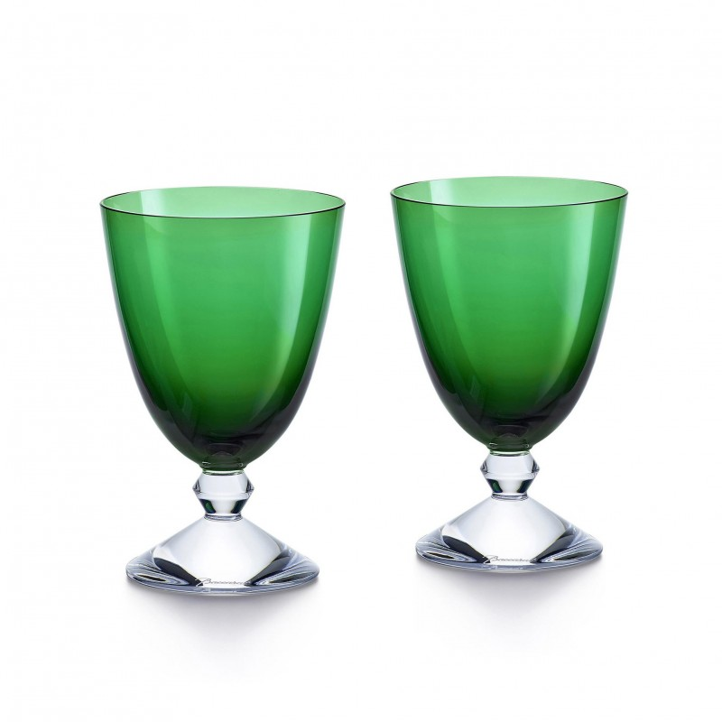 Set of 2 Véga Glasses Green