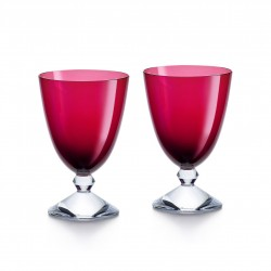 Set of 2 Véga Glasses Red