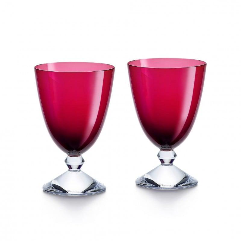 Set of 2 Véga Glasses Red