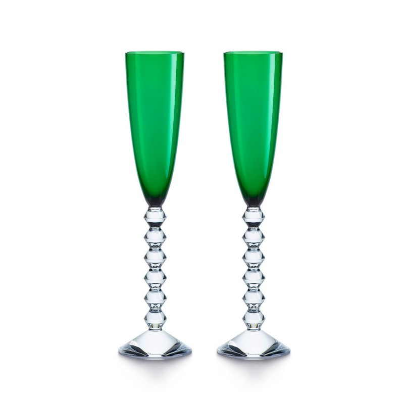 Set of 2 Véga Flutissimo Green