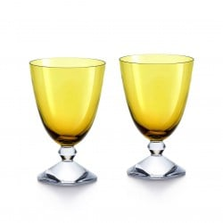 Set of 2 Véga Glasses Amber
