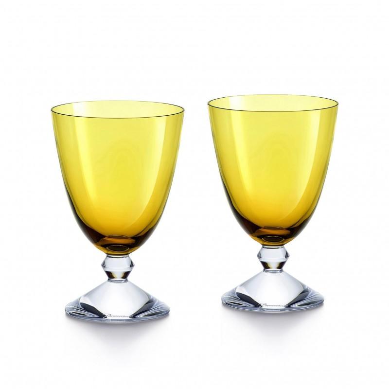 Set of 2 Véga Glasses Amber