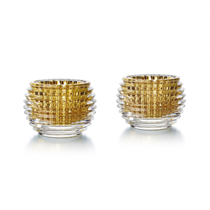Eye Votives Gold x2