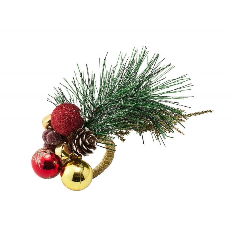 Christmas Sprig Napkin Ring